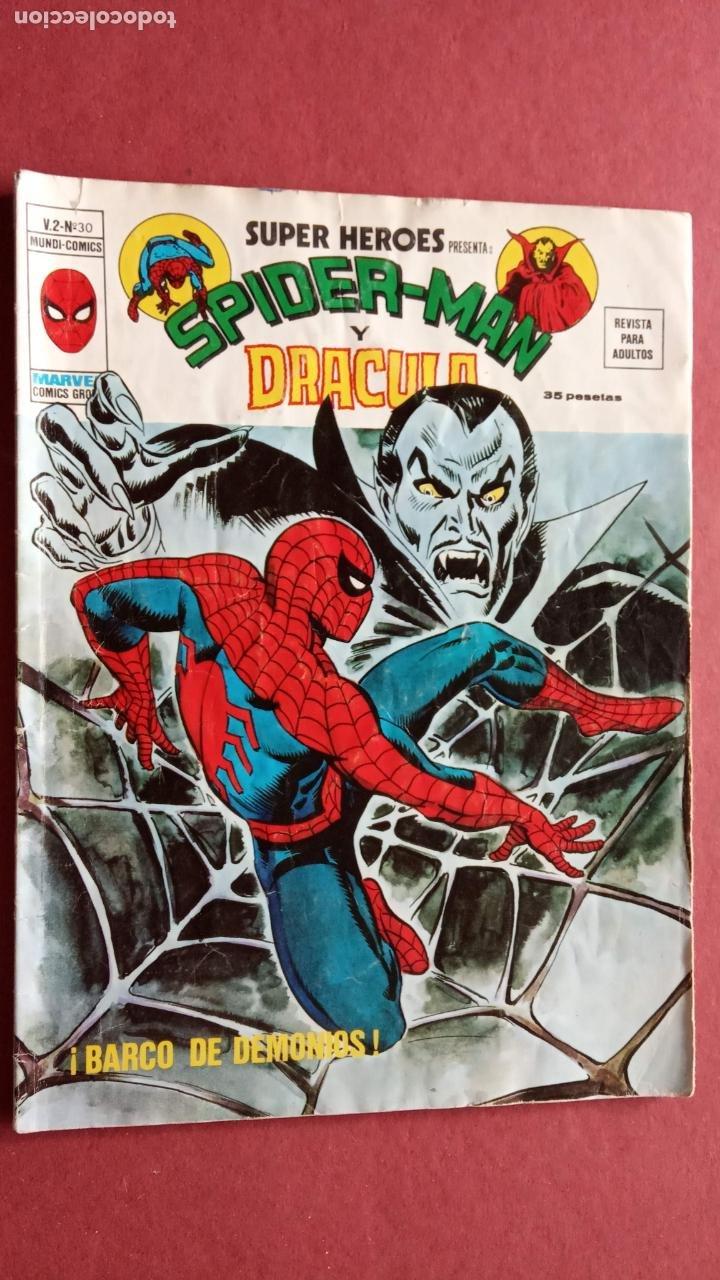 Cómics: SUPER HÉROES PRESENTA : SPIDER-MAN Y .. FRANKENSTEIN, DRÁCULA, DOC SAVAGE,H.COSA,LA VISIÓN,LA MASA, - Foto 5 - 237489915