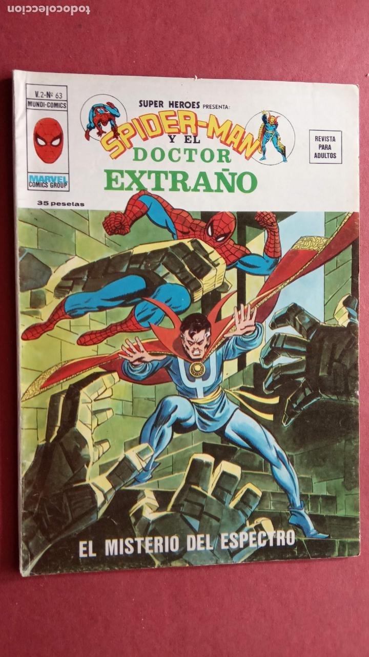 Cómics: SUPER HÉROES PRESENTA : SPIDER-MAN Y .. FRANKENSTEIN, DRÁCULA, DOC SAVAGE,H.COSA,LA VISIÓN,LA MASA, - Foto 11 - 237489915