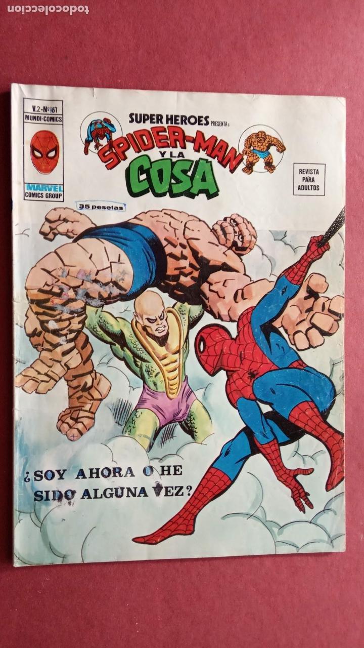 Cómics: SUPER HÉROES PRESENTA : SPIDER-MAN Y .. FRANKENSTEIN, DRÁCULA, DOC SAVAGE,H.COSA,LA VISIÓN,LA MASA, - Foto 9 - 237489915