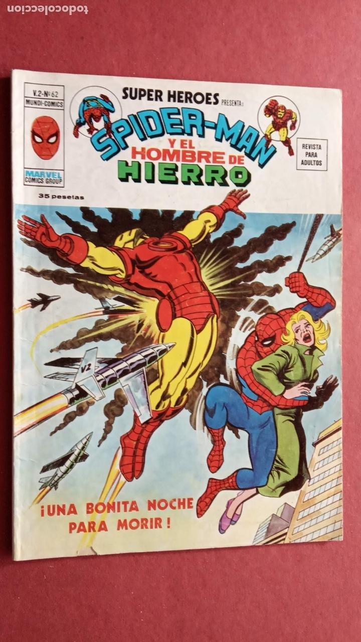 Cómics: SUPER HÉROES PRESENTA : SPIDER-MAN Y .. FRANKENSTEIN, DRÁCULA, DOC SAVAGE,H.COSA,LA VISIÓN,LA MASA, - Foto 10 - 237489915