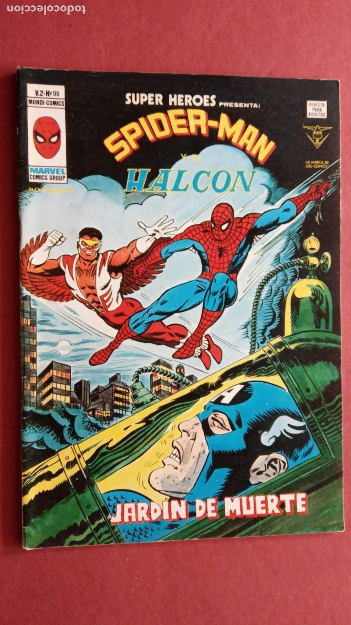 Cómics: SUPER HÉROES PRESENTA : SPIDER-MAN Y .. FRANKENSTEIN, DRÁCULA, DOC SAVAGE,H.COSA,LA VISIÓN,LA MASA, - Foto 14 - 237489915