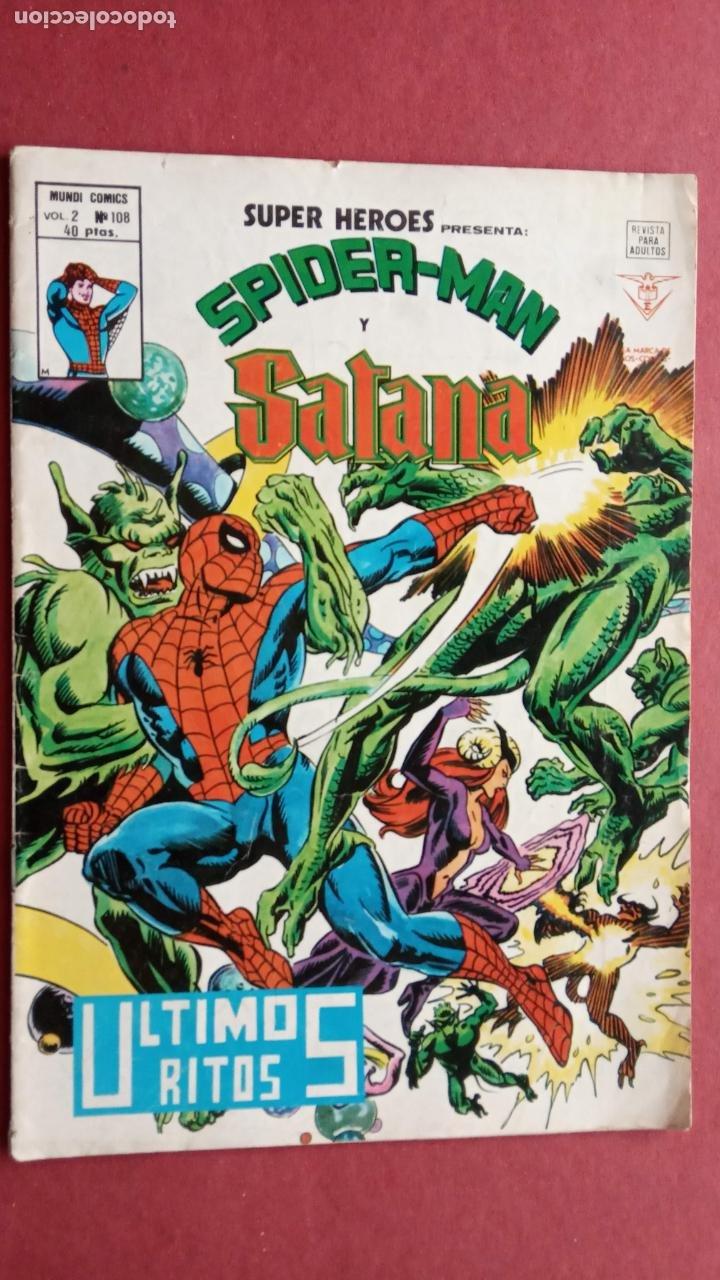 Cómics: SUPER HÉROES PRESENTA : SPIDER-MAN Y .. FRANKENSTEIN, DRÁCULA, DOC SAVAGE,H.COSA,LA VISIÓN,LA MASA, - Foto 15 - 237489915