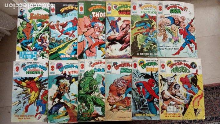 SUPER HÉROES PRESENTA : SPIDER-MAN Y .. FRANKENSTEIN, DRÁCULA, DOC SAVAGE,H.COSA,LA VISIÓN,LA MASA, (Tebeos y Comics - Vértice - V.2)