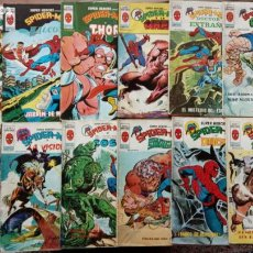 Cómics: SUPER HÉROES PRESENTA : SPIDER-MAN Y .. FRANKENSTEIN, DRÁCULA, DOC SAVAGE,H.COSA,LA VISIÓN,LA MASA,. Lote 237489915