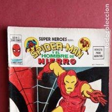 Cómics: SUPER HÉROES PRESENTA Vº 2 Nº 5 SPIDER-MAN Y EL HOMBRE DE HIERRO - EDI. VÉRTICE 1974. Lote 237498965