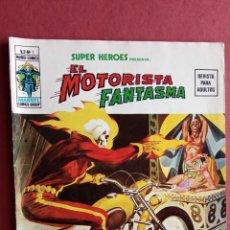 Cómics: SUPER HÉROES PRESENTA: Vº 2 - Nº 1 - EL MOTORISAT FANTASMA - EDI. VÉRTICE 1974 - 68 PÁGINAS. Lote 237501690