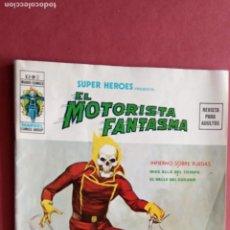 Cómics: SUPER HÉROES PRESENTA: Vº 2 - Nº 2- EL MOTORISTA FANTASMA - EL VALLE DEL GUSANO, GIL KANE , ROY THOM. Lote 237503745