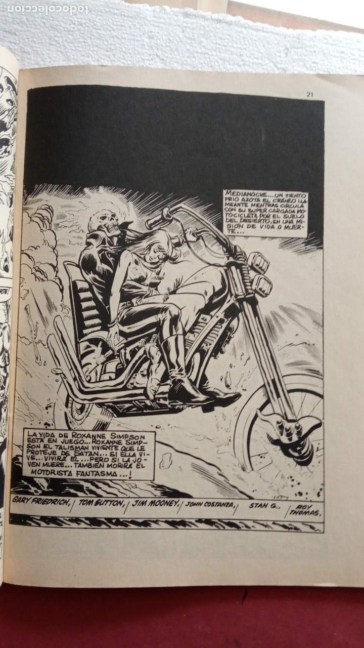 Cómics: SUPER HÈROES PRESENTA : Vº 2 Nº 3 EL MOTORISTA FANTASMA - 1974 EDI. VÉRTICE - Foto 3 - 237504555