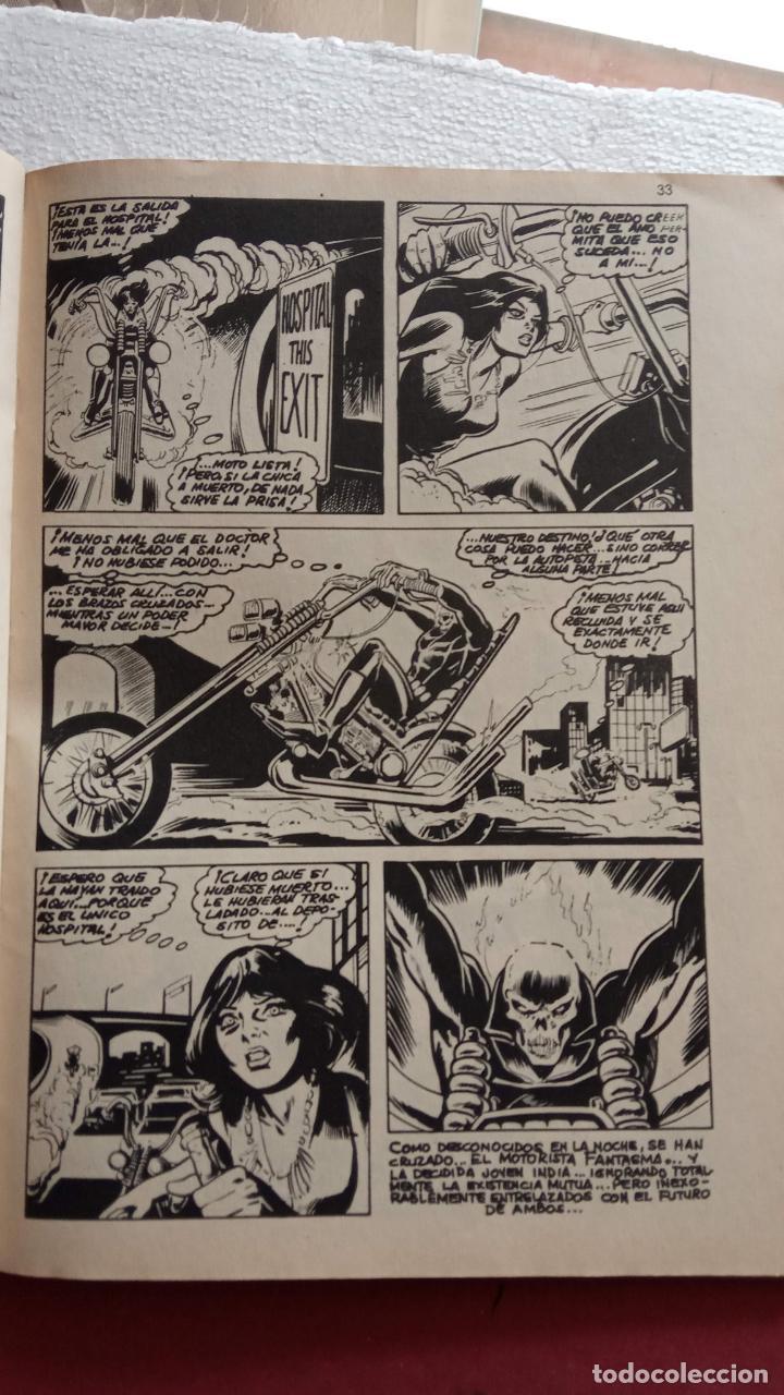 Cómics: SUPER HÈROES PRESENTA : Vº 2 Nº 3 EL MOTORISTA FANTASMA - 1974 EDI. VÉRTICE - Foto 5 - 237504555
