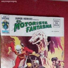 Cómics: SUPER HÈROES PRESENTA : Vº 2 Nº 3 EL MOTORISTA FANTASMA - 1974 EDI. VÉRTICE. Lote 237504555