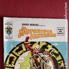 Cómics: SUPER HÉROES PRESENTA : Vº 2 Nº 15 - EL MOTORISTA FANTASMA - EDI.VÉRTICE 1974. Lote 237507630