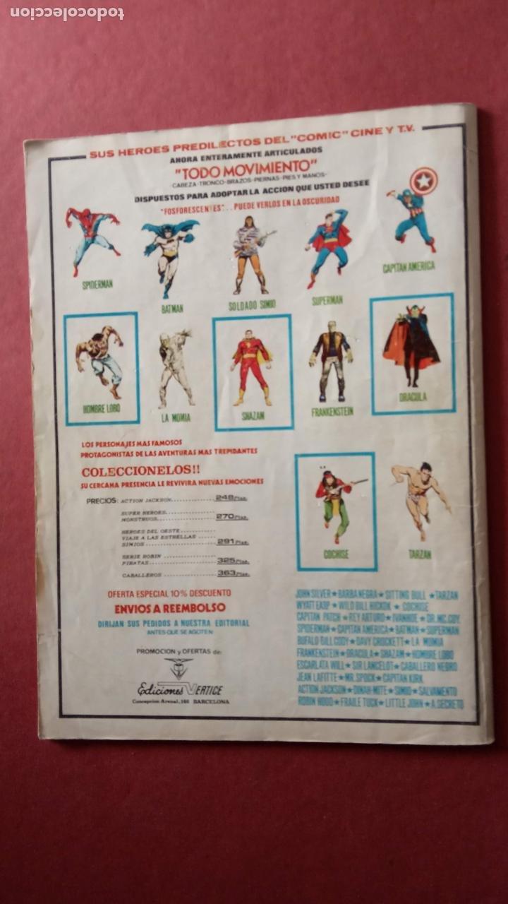 Cómics: SUPER HÉROES PRESENTA: Vº 2 Nº 58 - EL MOTORISTA FANTASMA - EDI. VÉRTICE 1974 - Foto 3 - 237511485