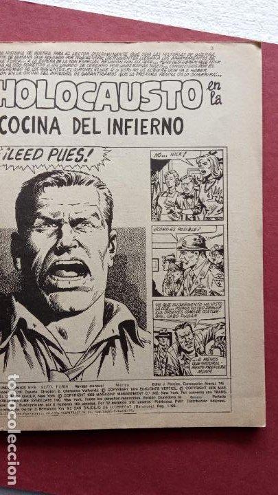 Cómics: SARGENTO FURIA Vº 2 Nº 8 - EDI. VÉRTICE 1974 - - Foto 2 - 237512930