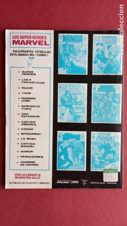 Cómics: SARGENTO FURIA Vº 2 Nº 10 - EDI. VÉRTICE 1974 - Foto 2 - 237513195