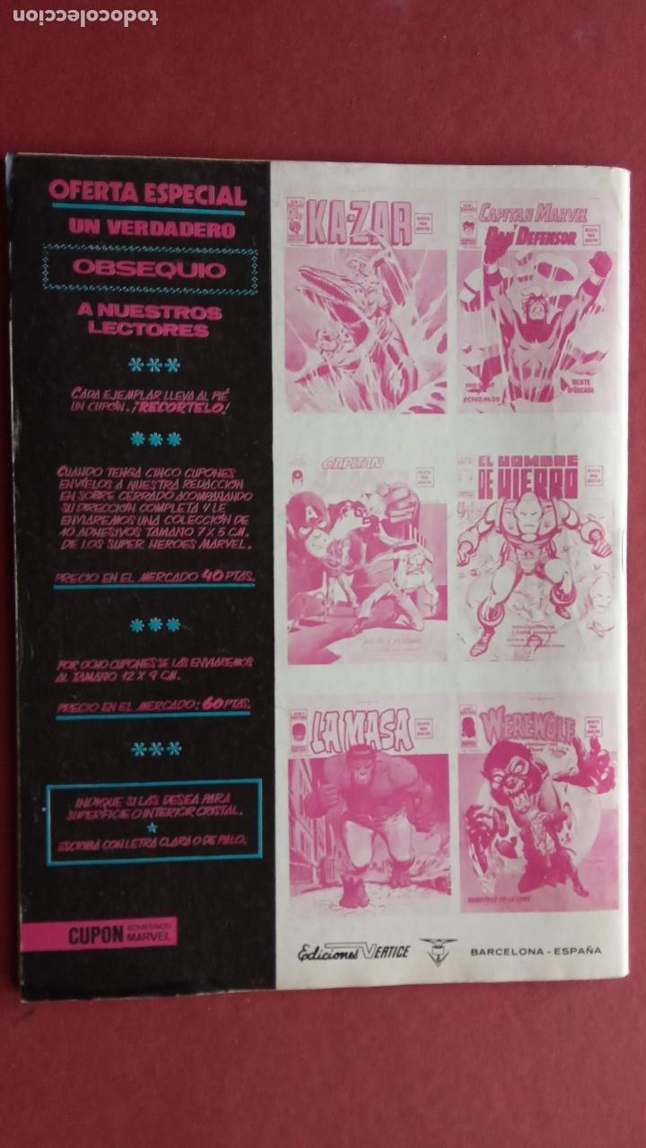 Cómics: SARGENTO FURIA Vº 2 Nº 9 - EDI. VÉRTICE 1974 - Foto 2 - 237513770