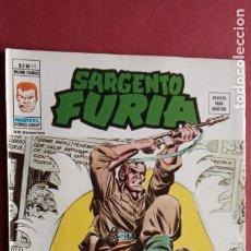 Cómics: SARGENTO FURIA Vº 2 Nº 11 - EDI. VÉRTICE 1974. Lote 237514015