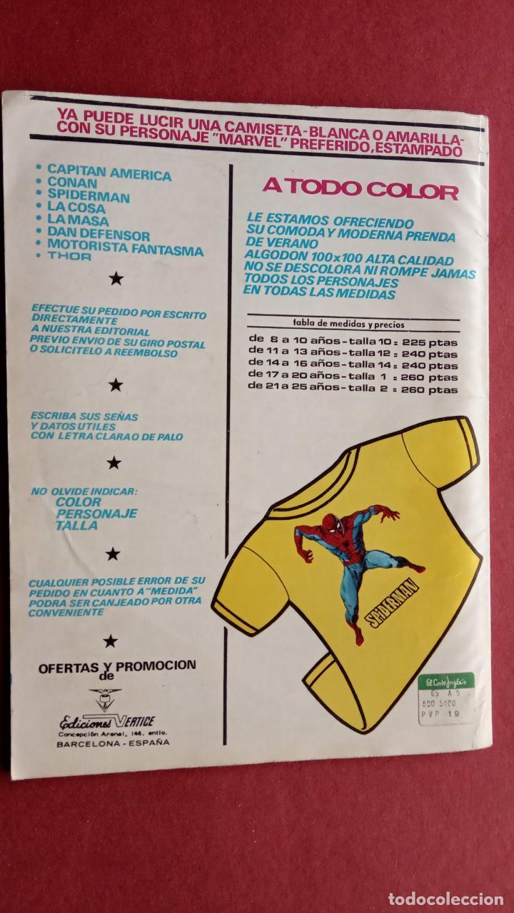 Cómics: SARGENTO FURIA Vº 2 Nº 12 EDI. VÉRTICE 1974 - Foto 2 - 237514315