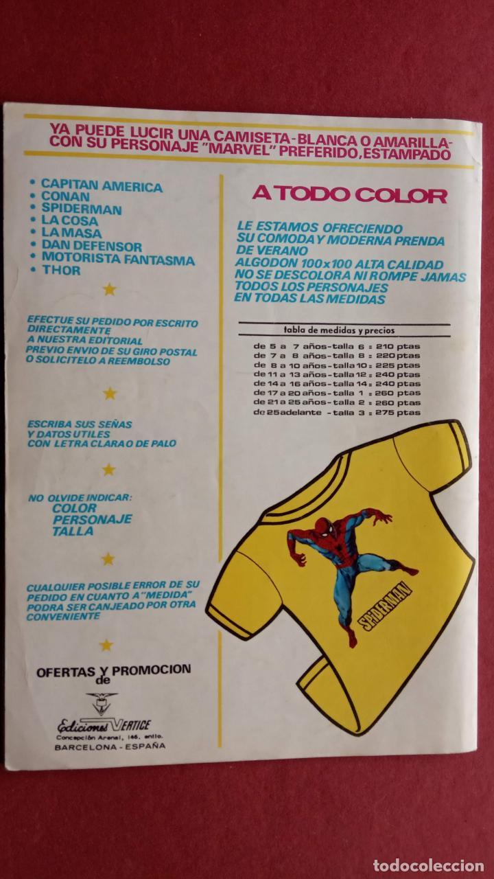 Cómics: SARGENTO FURIA Vº 2 Nº 15 EDI. VÉRTICE 1974 - Foto 2 - 237515050
