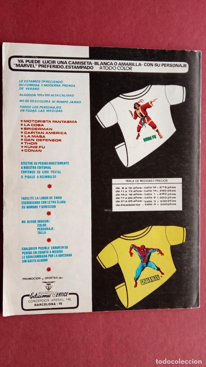Cómics: SARGENTO FURIA Vº 2 Nº 24 - EDI. VÉRTICE 1974 MUY BUEN ESTADO - Foto 2 - 237515360