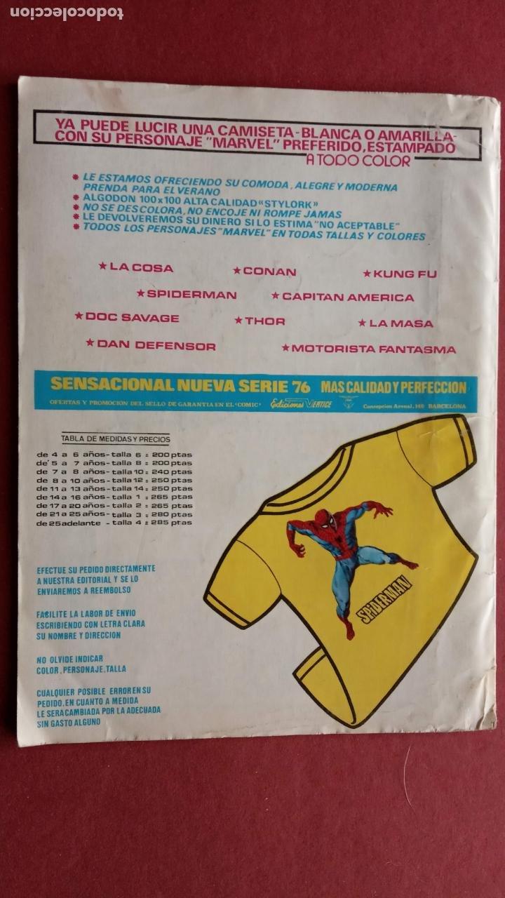 Cómics: EL SARGENTO FURIA Vº 2 Nº 26 EDI. VÉRTICE 1974 - Foto 2 - 237516105