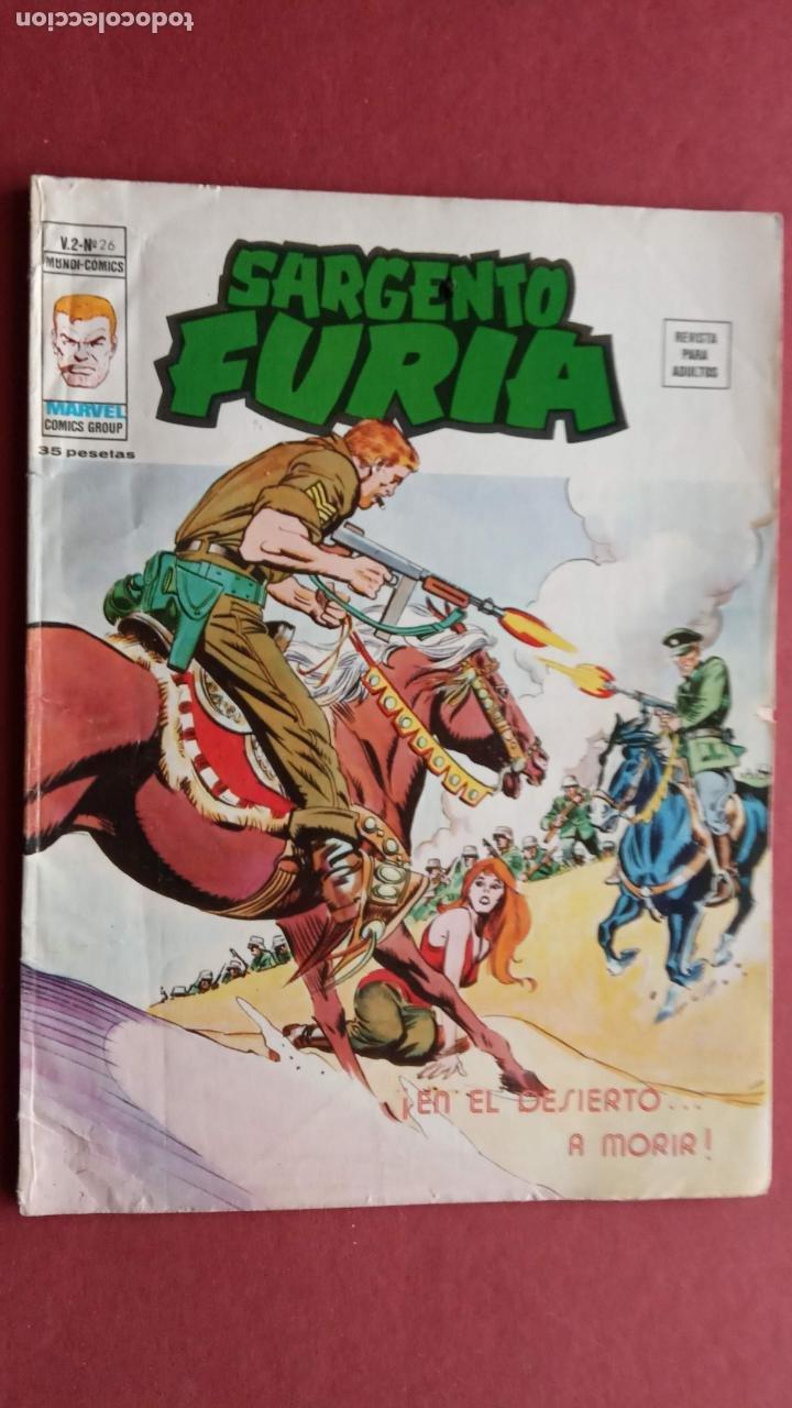 EL SARGENTO FURIA Vº 2 Nº 26 EDI. VÉRTICE 1974 (Tebeos y Comics - Vértice - V.2)