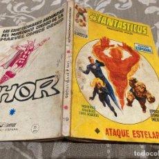 Cómics: LOS 4 FANTASTICOS VOL 1 Nº19 ATAQUE ESTELAR - VERTICE 1970. Lote 237521200