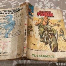 Cómics: SARGENTO FURIA VOL 1 Nº24 TE Y SABOTAJE VERTICE 1973. Lote 237526890