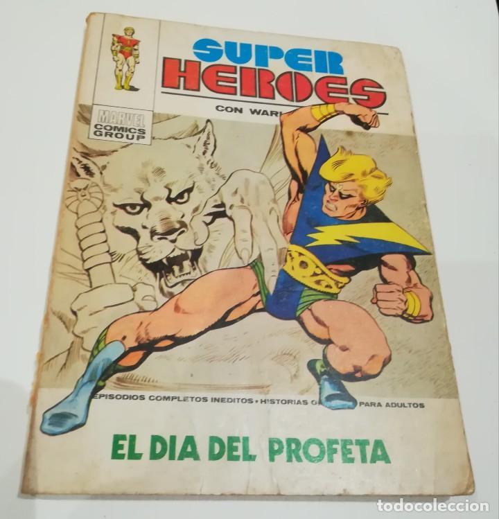 SUPER HEROES. Nº 1. WARLOCK EL DÍA DEL PROFETA. EDICIONES VERTICE (Tebeos y Comics - Vértice - Super Héroes)