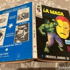 Comics: LA MASA VOL1 Nº14 - MORIRAS HOMBRE DE HIERRO - VERTICE 1971. Lote 237708855