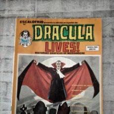 Comics: DRACULA LIVES ESCALOFRIO N 15. Lote 237856970