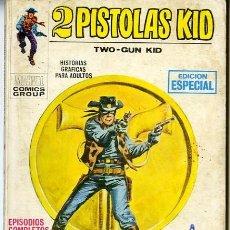 Cómics: (M1) 2 PISTOLAS KID N.2 EDICIONES VERTICE 1971 - 1 PÁGINA Y CONTRAPORTADA COLOREADA. Lote 237930300