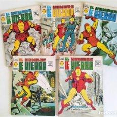 Cómics: EL HOMBRE DE HIERRO VOL.2 COMPLETA 5 NÚMEROS ~ MARVEL / VERTICE (1974) *EXCELENTE ESTADO*. Lote 238110240