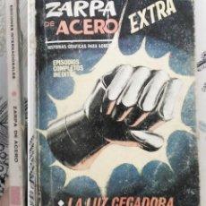 Cómics: ZARPA DE ACERO N.º 10 LA LUZ CEGADORA VERTICE TACO. Lote 238149820