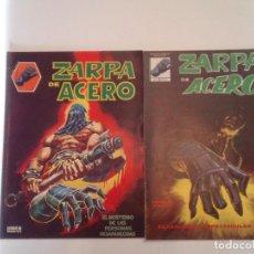 Cómics: ZARPA DE ACERO - VERTICE - MUNDICOMICS + SURCO - COMPLETA - MUY BUEN ESTADO - GORBAUD. Lote 238364360