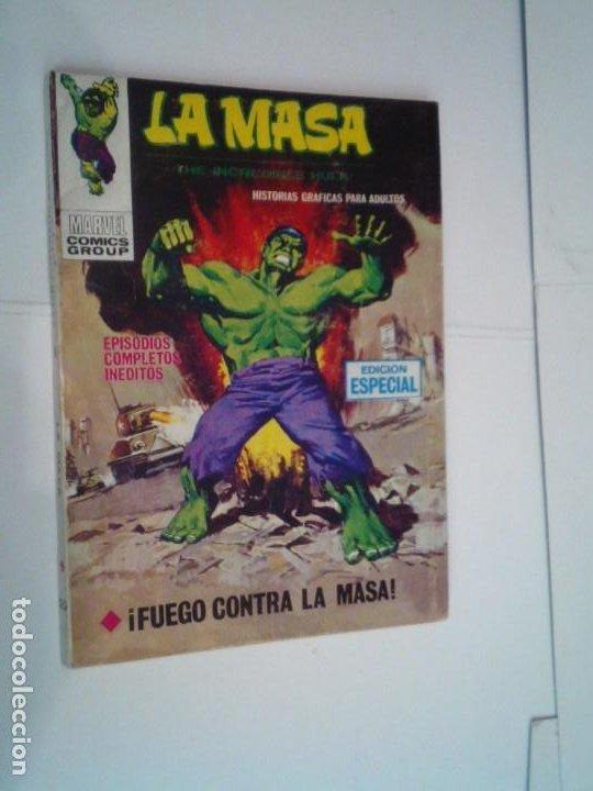 LA MASA - VERTICE - VOLUMEN 1 - NUMERO 20 - BUEN ESTADO - GORBAUD - CJ 134 (Tebeos y Comics - Vértice - La Masa)