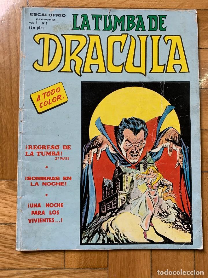 ESCALOFRÍO VOL.2 Nº 7: LA TUMBA DE DRÁCULA - D3 (Tebeos y Comics - Vértice - Terror)