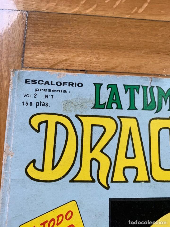 Cómics: Escalofrío vol.2 nº 7: La Tumba de Drácula - D3 - Foto 2 - 238544180