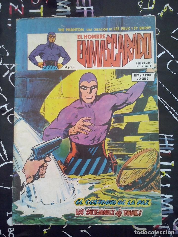 VERTICE MUNDI-COMICS : EL HOMBRE ENMASCARADO VOL.2 NUM. 10 (Tebeos y Comics - Vértice - Surco / Mundi-Comic)