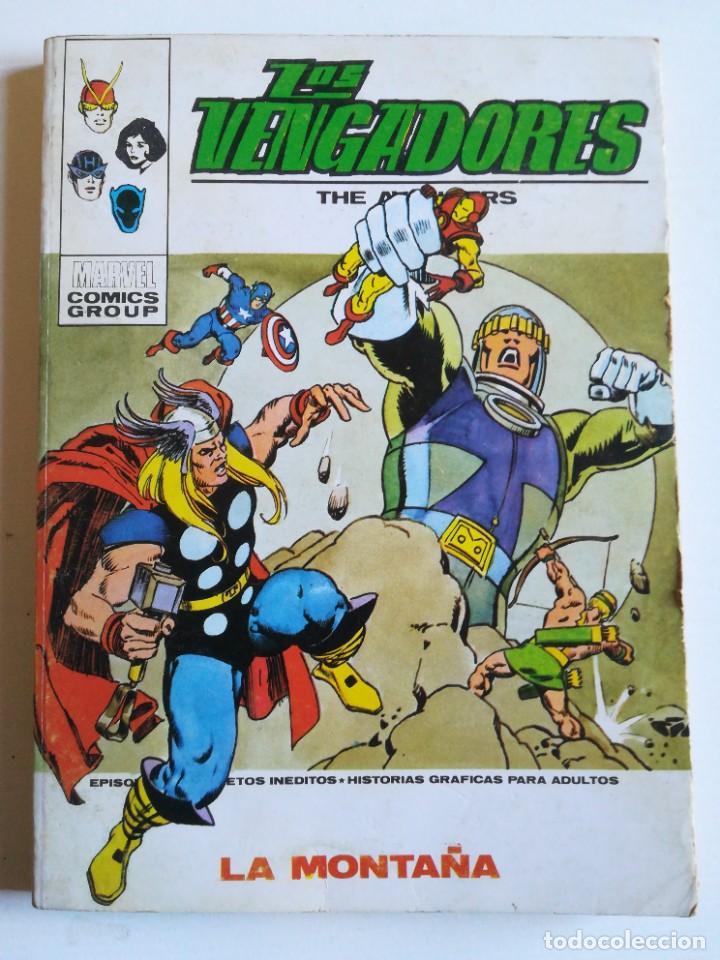 LOS VENGADORES 48 LA MONTAÑA VERTICE (Tebeos y Comics - Vértice - Super Héroes)