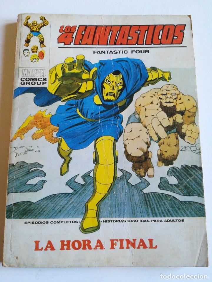 LOS 4 FANTASTICOS 58 LA HORA FINAL VERTICE (Tebeos y Comics - Vértice - Super Héroes)