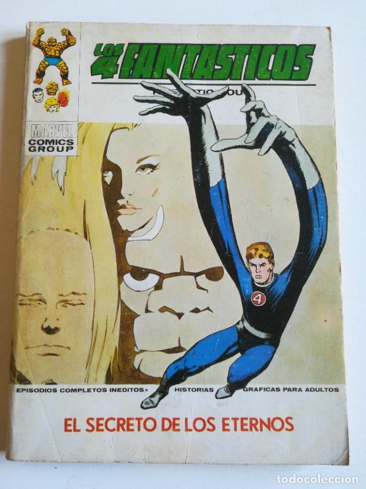 LOS 4 FANTASTICOS 57 EL SECRETO DE LOS ETERNOS VERTICE (Tebeos y Comics - Vértice - Super Héroes)