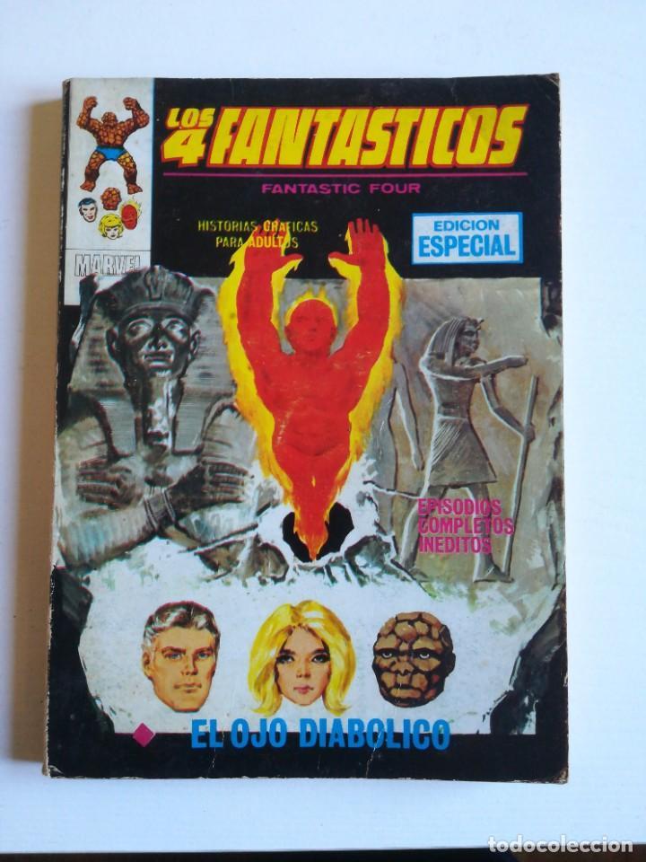 LOS 4 FANTASTICOS 26 EL OJO DIABÓLICO VERTICE MUY BUEN ESTADO (Tebeos y Comics - Vértice - Super Héroes)