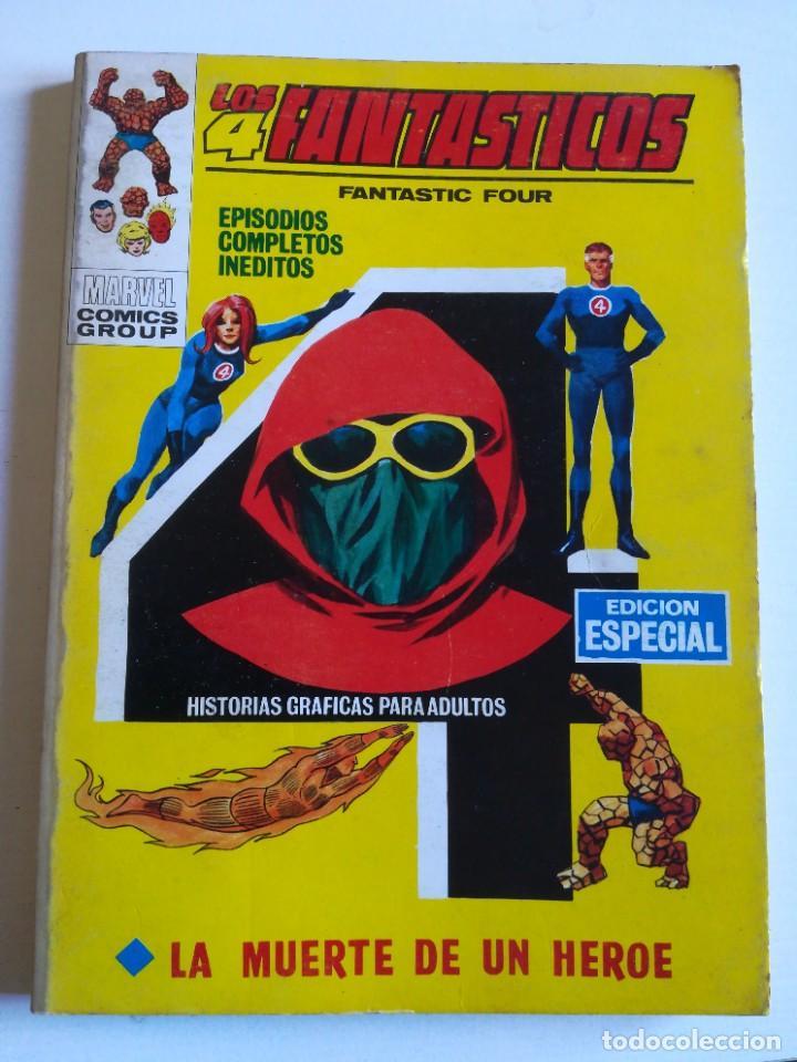 LOS 4 FANTASTICOS 17 LA MUERTE DE UN HÉROE VERTICE (Tebeos y Comics - Vértice - Super Héroes)