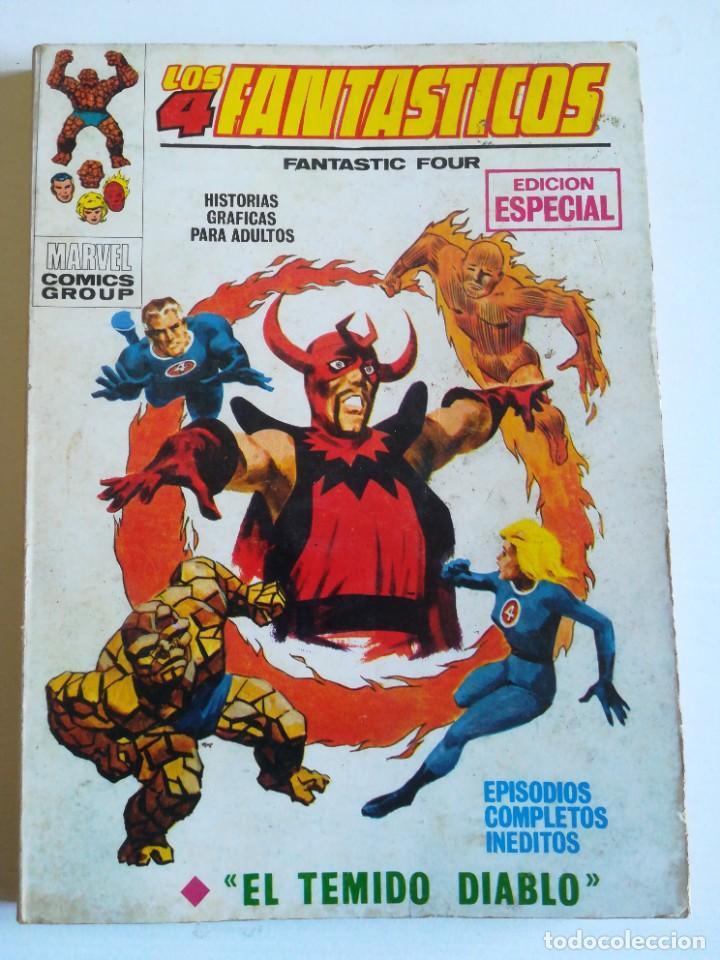 LOS 4 FANTASTICOS 16 EL TEMIDO DIABLO VERTICE MUY DIFÍCIL DE ENCONTRAR (Tebeos y Comics - Vértice - Super Héroes)