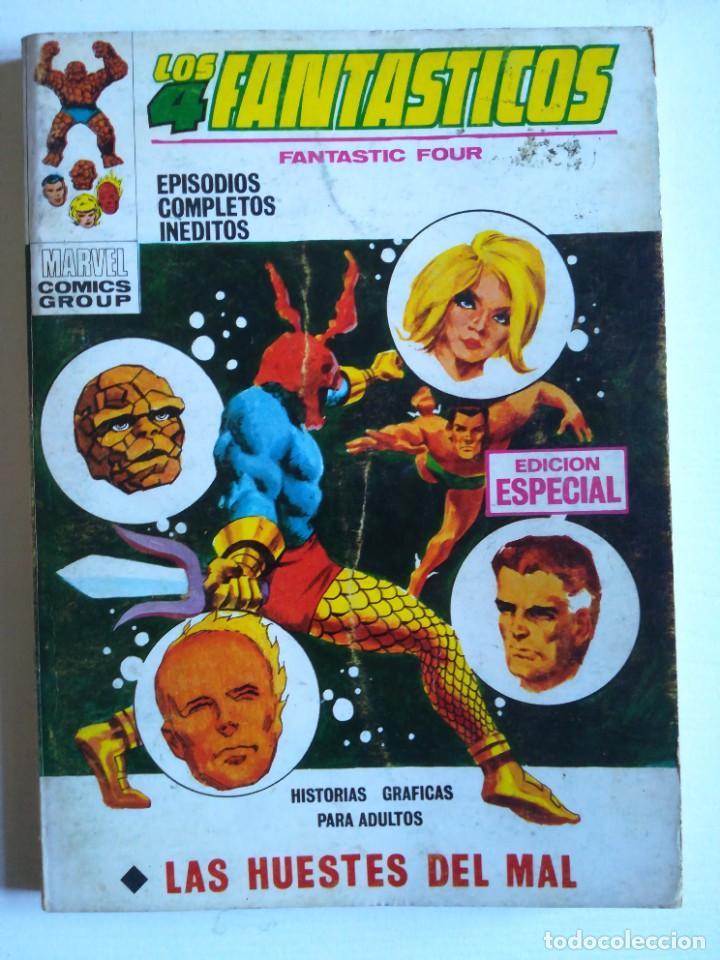 LOS 4 FANTASTICOS 15 LAS HUESTES DEL MAL VERTICE (Tebeos y Comics - Vértice - Super Héroes)