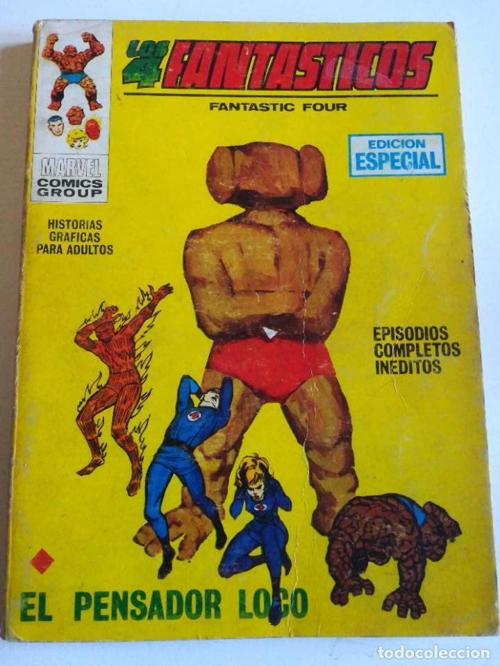 LOS 4 FANTASTICOS 8 EL PENSADOR LOCO VERTICE (Tebeos y Comics - Vértice - Super Héroes)