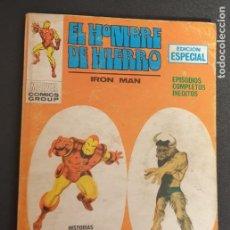 Fumetti: CONTRA EL MINOTAURO EL HOMBRE DE HIERRO IRON MAN Nº 10 EDICIONES VÉRTICE AÑO 1970. Lote 239429320