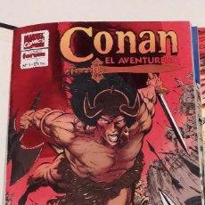 Cómics: COLECC. COMPLETA CONAN EL AVENTURERO. 14 NUMEROS - FORUM AÑO 1994. INCLUYE TAPAS. Lote 239464255