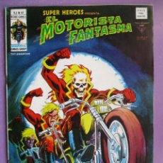 Cómics: SUPER HEROES Nº 82 VERTICE ¡¡¡¡¡ MUY BUEN ESTADO!!!! EL MOTORISTA FANTASMA. Lote 239499365
