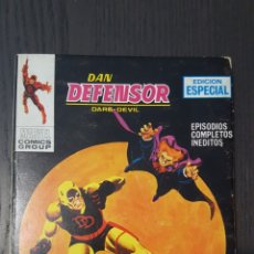 Cómics: COMIC - DAN DEFENSOR (DAREDEVIL) - VOL.1 Nº 9 - SOLO CONTRA EL HAMPA - 128 PAGINAS - 1969. Lote 239886165